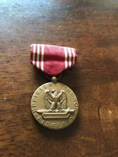 Fidelity Honor Efficiency Medal vintage Military