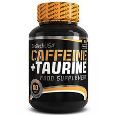 BioTech Caffeine&Taurin 3x60 Kaps., Energie Booster mit Koffein und Taurin