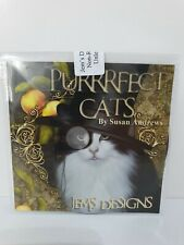 JEMS DESIGNS Purrrfect Cats Susan Andrews Toppers Inserts Paper Design Decoupage