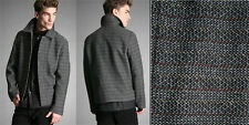 RAF BY RAF SIMONS Tweed Harrington Wool-Blend Jacket IT 50 / US 40