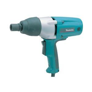 Makita Tw0350 110v 1/2 Impact Wrench Impact Gun In Carry Case 16AMP YELLOW PLUG