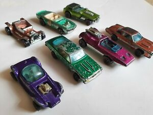 7 * Hot Wheels Red Line cars