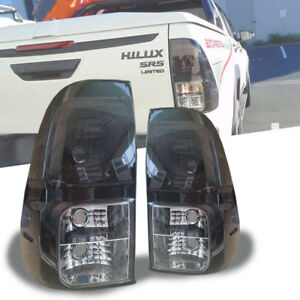 SMOKE LENS REAR LAMP TAIL LIGHT FIT FOR TOYOTA HILUX REVO M70 M80 2015-2020