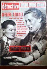 Détective 2/12/1960; Dans les bas fond de sodome/ Le fils de Stavisky/ Emonet
