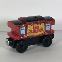 Thomas The Train Sodor Day Musical Caboose Wooden Railway Friends Engine Rare