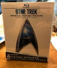Star Trek: Original Motion Picture Collection (Blu-ray Disc, 2009, 7-Disc)