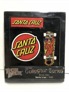 NEW Tech Deck Collector Series Steve Alba Santa Cruz-1989 Skateboard Fingerboard