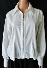 FIORELLA RUBINO Camicia Shirt Tg.44 Stimata, leggermente elasticizzata