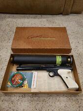 Crosman Target Pistol Model 112 22 Caliber White original Box vintage