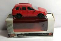 TESCO FUEL LINE MINI SERIES DIECAST BMW X5 - RED - BOXED