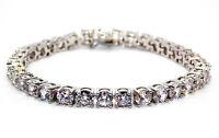 Silver Diamond 8.25ct Tennis Bracelet (925)