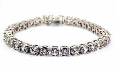 Silver Diamond 8.25ct Tennis Bracelet (925)