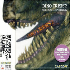 DINO CRISIS GAME SOUNDTRACK CD  DINO CRISIS 2
