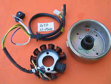 Ignition Magneto Stator Plate 11 Pole & Flywheel for Honda GY6 125 150 engine