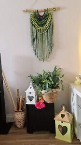 macrame wall hanging tapestry
