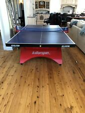 Killerspin Revolution Ping Pong Table, Red and Blue, Used- Good Condition