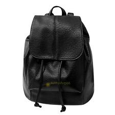 Leisure PU Leather Multi-Function Women Travel Girl Shopping Backpack Schoolbag