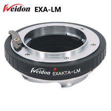 Weidon EXAKTA lens to Leica M LM camera adapter for M9 with TECHART LM-EA7