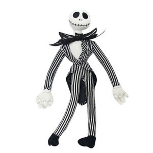 50cm The Nightmare Before Christmas Jack Skellington Poseable Plush Doll Toy