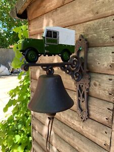 Cast Iron Landrover Land Rover Bell