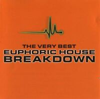 THE VERY BEST EUPHORIC HOUSE BREAKDOWN various (2X CD, mixed) house, trance 2003