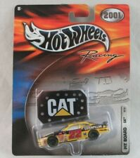 Hot Wheels Racing Pit Board CAT #22 1:64 Scale NASCAR 2001