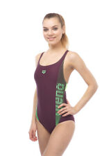ARENA - W TWINKLE SWIM PRO - RED WINE/SHINY GREEN SIZE 32 (001608-436) - 50% OFF