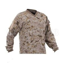New Valken Paintball V-Tac Sierra Playing Jersey - Desert/Tan Marpat - XL