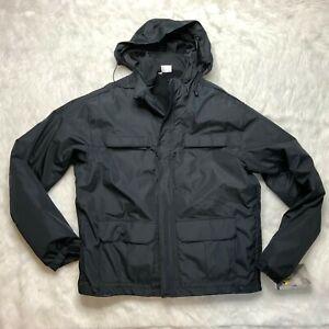 Elbeco SH3200 Summit Thinsulate Coat Guard Duty Jacket Black Large Long NWT J8Y