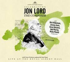 Jon Lord celebrating the composer CD 2014 Live at the royal albert hall * NEW