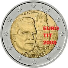 2 €   LUXEMBOURG  COMMEMORATIVE   2008     1   X    PIECE             disponible