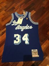 NBA Mitchell And Ness Vintage Authentic Jersey Los Angeles Shaq O'neal Size M