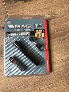Maglite Solitaire  Torch in Black