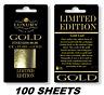 100 24K Hoja Oro en Base 7cm x 4cm Arte, Dorado, Todos Manualidades, Encuadre