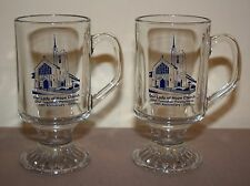 2 VERY NICE OUR LADY OF HOPE CHURCH COAL TOWNSHIP, PA 2005 GLASS MUGS
