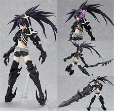 "New Figma SP-041 Insane Black Rock Shooter 6"" Action PVC Figure Figurine Toy x"