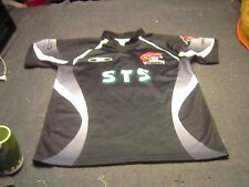 Cameron # 20 Pro Pirates Sts Rugby Black Jersey Adult Size Medium