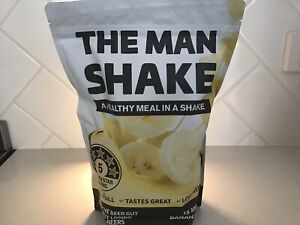 The Man Shake 840g Banana Flavour weightless meal replacement BEST PRICE