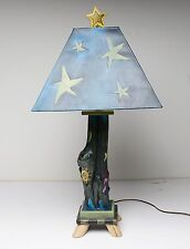 Sticks Hand Crafted Table Lamp L@@K NICE!!!