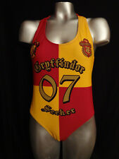 Harry Potter GRIFFINDOR official licensed women's one piece swim suit NWT MED
