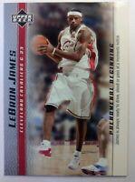 2003 03-04 Upper Deck Phenomenal Beginning LeBron James Rookie RC #16, Cavs MVP