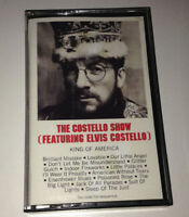 THE COSTELLO SHOW (Feat. Elvis Costello) - King Of America - Cassette Tape - EX