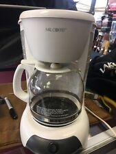 Mr Coffe Coffee Maker