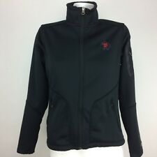 Ogio Womens Long Sleeve Full Zip Athletic Jacket Sz. S Black