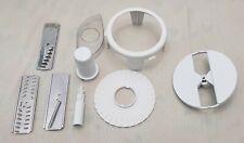 Moulinex Masterchef Assorted Appliance Parts Blades Disc Shaft Wisk Lot of 9