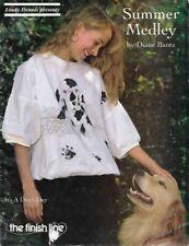 Summer Medley Linda Dennis The Finish Line 90010 Vtg Dog Cat Elephants & More