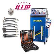 ATF Gerät Automatikgetriebeöl Wechsel Ölwechselmaschine Spülgerät + 5x Adapter
