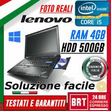 Notebook e computer portatili Lenovo ThinkPad Lenovo ThinkPad T420