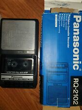 Panasonic Rq-2102 Slim Line Portable Cassette Tape Player Recorder