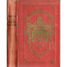 LES EXILES DANS LA FORET par Capitaine MAYNE REID Traduit LOREAU illustré 1919